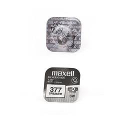 Батарейка серебряно-цинковая часовая MAXELL SR626SW 377 (RUS), в упак 10 шт