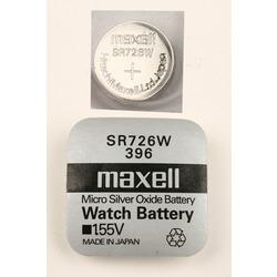 Батарейка серебряно-цинковая часовая MAXELL SR726W 396, в упак 10 шт