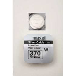 Батарейка серебряно-цинковая часовая MAXELL SR920W 370