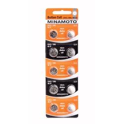 Батарейка алкалиновая часовая MINAMOTO Button Cell AG12 BL10