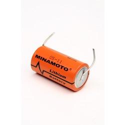 Батарейка литиевый спецэлемент MINAMOTO ER-26500/T С с лепестковыми выводами