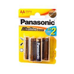 Батарейка бытовая стандартных типоразмеров Panasonic Alkaline Power LR6APB/6BP 4+2F LR6 4+2 шт BL6