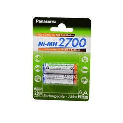 Аккумулятор Ni-MN Panasonic BK-3HGAE/2BE 2700mAh AA BL2