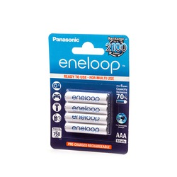 Аккумулятор предзаряженный Panasonic eneloop BK-4MCCE/4BE 750mAh AAA BL4