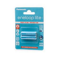 Аккумулятор предзаряженный Panasonic eneloop lite BK-4LCCE/2BE 550mAh AAA BL2
