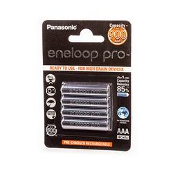 Аккумулятор предзаряженный Panasonic eneloop pro BK-4HCCE/4BE 900mAh AAA BL4