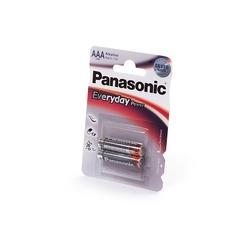 Батарейка бытовая стандартных типоразмеров Panasonic Everyday Power LR03EPS/2BP LR03 BL2