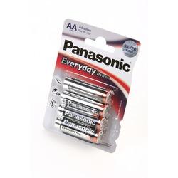 Батарейка бытовая стандартных типоразмеров Panasonic Everyday Power LR6EPS/4BP LR6 BL4