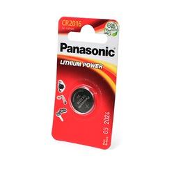 Батарейка дисковая литиевая Panasonic Lithium Power CR-2016EL/1B CR2016 BL1 NEW