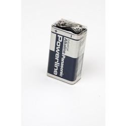 Батарейка бытовая стандартных типоразмеров Panasonic Powerline Industrial 6LR61AD SR1, в упак 12 шт