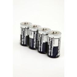 Батарейка бытовая стандартных типоразмеров Panasonic Powerline Industrial LR 14 AD/4P SR4, в упак 24 шт