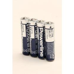 Батарейка бытовая стандартных типоразмеров Panasonic Powerline Industrial LR03 AD/4P SR4, в упак 48 шт