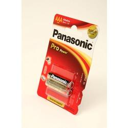 Батарейка бытовая стандартных типоразмеров Panasonic Pro Power LR03PPG/2BP LR03 BL2