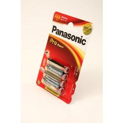 Батарейка бытовая стандартных типоразмеров Panasonic Pro Power LR03PPG/4BP LR03 BL4