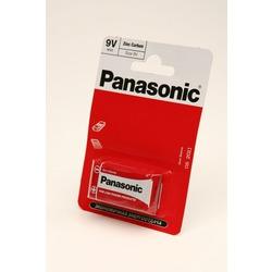 Батарейка бытовая стандартных типоразмеров Panasonic Zinc Carbon 6F22RZ/1BP R6F22RZ BL1