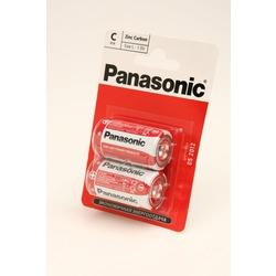 Батарейка бытовая стандартных типоразмеров Panasonic Zinc Carbon R14RZ/2BP R14 BL2