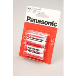 Батарейка бытовая стандартных типоразмеров Panasonic Zinc Carbon R6RZ/4BP R6 BL4