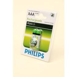 Аккумулятор Ni-MN PHILIPS HR03 1000mAh BL2