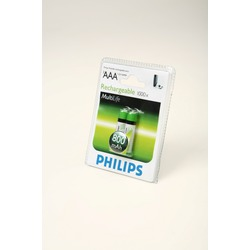 Аккумулятор Ni-MN PHILIPS HR03 800 mAh BL2