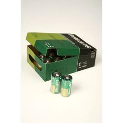 Батарейка бытовая стандартных типоразмеров PHILIPS LONGLIFE R14 SR2, в упак 24 шт