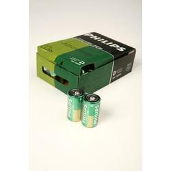 Батарейка бытовая стандартных типоразмеров PHILIPS LONGLIFE R20 SR2, в упак 24 шт