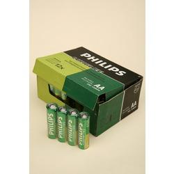 Батарейка бытовая стандартных типоразмеров PHILIPS LONGLIFE R6 SR4, в упак 48 шт