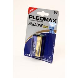 Батарейка бытовая стандартных типоразмеров PLEOMAX samsung 6LR61 BL1