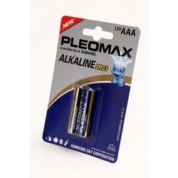 Батарейка бытовая стандартных типоразмеров PLEOMAX samsung LR03 BL2