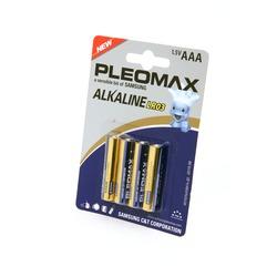 Батарейка бытовая стандартных типоразмеров PLEOMAX samsung LR03 BL4