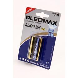 Батарейка бытовая стандартных типоразмеров PLEOMAX samsung LR6 BL2