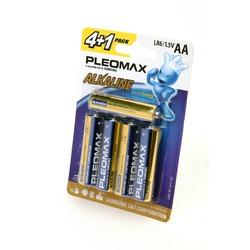 Батарейка бытовая стандартных типоразмеров PLEOMAX samsung LR6-4+1 BL5