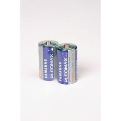 Батарейка бытовая стандартных типоразмеров PLEOMAX samsung R20 SR2, в упак 24 шт