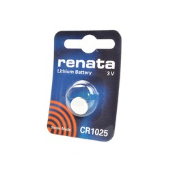 Батарейка дисковая литиевая RENATA CR1025 BL1