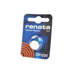 Батарейка дисковая литиевая RENATA CR1220 BL1