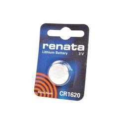 Батарейка дисковая литиевая RENATA CR1620 BL1