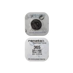 Батарейка серебряно-цинковая часовая RENATA SR1116W 365, в упак 10 шт