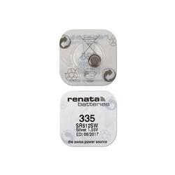 Батарейка серебряно-цинковая часовая RENATA SR512SW 335, в упак 10 шт