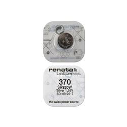 Батарейка серебряно-цинковая часовая RENATA SR920W 370, в упак 10 шт