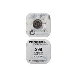 Батарейка серебряно-цинковая часовая RENATA SR927W 399, в упак 10 шт