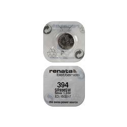 Батарейка серебряно-цинковая часовая RENATA SR936SW 394, в упак 10 шт