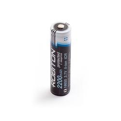 Аккумулятор литиевый ROBITON 2.2/Li18650 с защитой