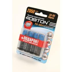 Аккумулятор Ni-MN ROBITON 2850MHAA-4/box BL4