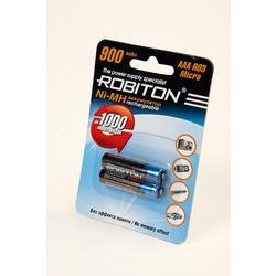Аккумулятор Ni-MN ROBITON 900MHAAA-2 BL2
