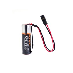 Батарейка литиевый спецэлемент ROBITON ER14505-DP AA с коннектором
