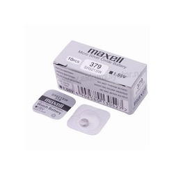 Батарейка серебряно-цинковая часовая MAXELL SR521SW 379 (RUS)