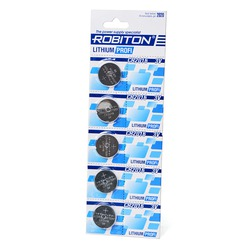 Батарейка дисковая литиевая ROBITON PROFI R-CR2016-BL5 CR2016 BL5