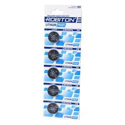 Батарейка дисковая литиевая ROBITON PROFI R-CR2025-BL5 CR2025 BL5