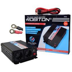 Инвертор 12V-220V ROBITON R700 700W две евро розетки