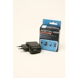 Адаптер/блок питания ROBITON USB1000 1000mA с USB входом BL1