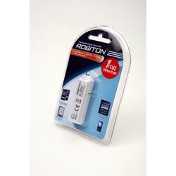 Адаптер/блок питания автомобильный ROBITON USB2100/Auto 2100мА с USB входом BL1